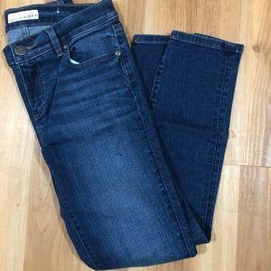 Loft size 2 skinny crop jeans